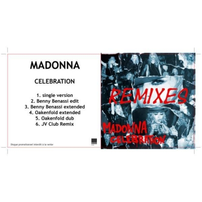 MADONNA - Celebration (Benny Benassi Mix)