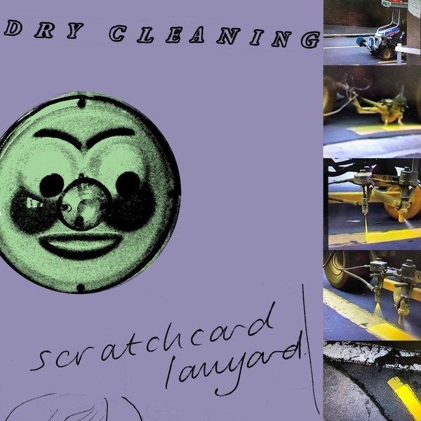 Dry Cleaning - Scratchcard Laynard