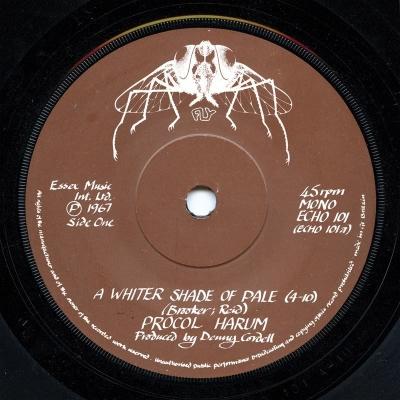 Procol Harum - A Whiter Shade of Pale (Original Single Version)