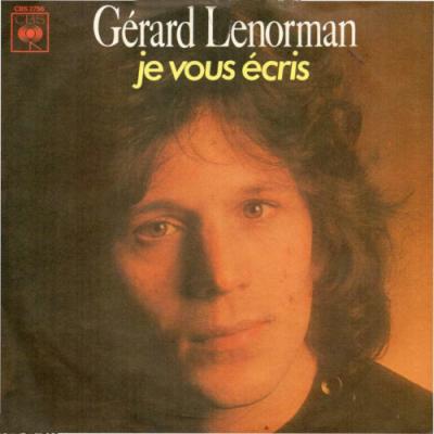 Grard Lenorman - Je Vous Ecris (1975)