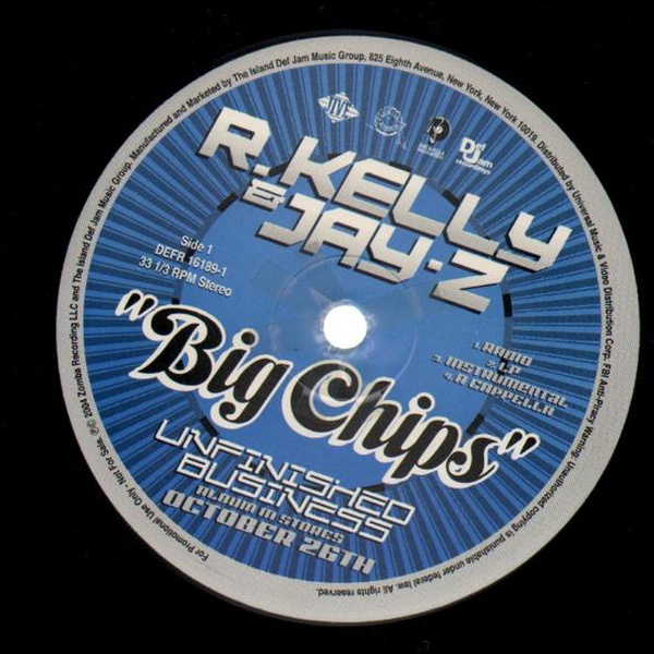 R.Kelly And Jay-Z - Big Chips