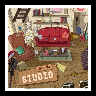 Reggae  Ghetto Studio - Caura