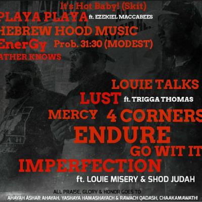 SHOD  JUDAH X  Louie MISERY X Militian #THEBLACKLABEL #REALJUDAH - 4 Corners